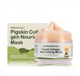 Коллагеновая маска Pigskin от BioAqua (Sos увлажнение и ровный тон кожи)