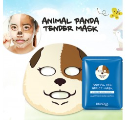 маска для лица BioAqua Animal Face - Dog, 30g.