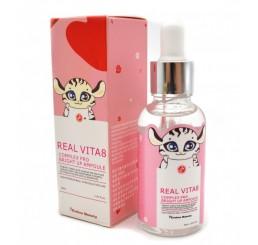 Сыворотка с витаминным комплексом для тусклой и усталой кожей REAL